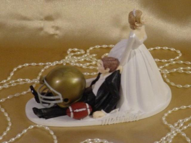 basketball wedding cake toppers notre dame football dragging 11106