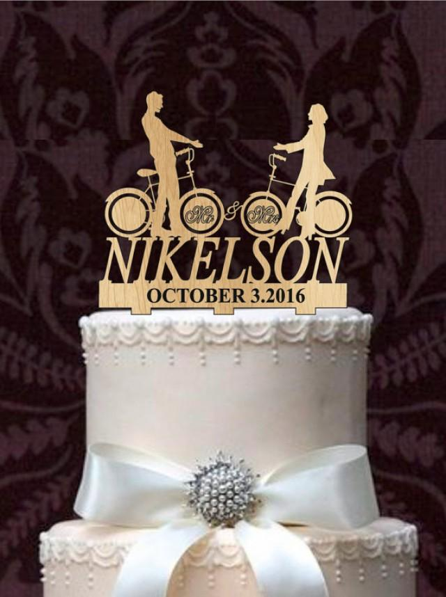 monogram wedding cake toppers personalized custom wedding cake topper mr and mrs with a 5998