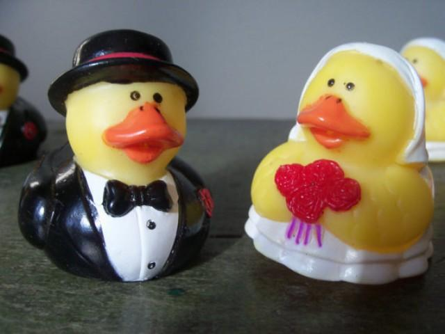 rubber duck wedding cake toppers vintage wedding reception decoration table cake topper 19439