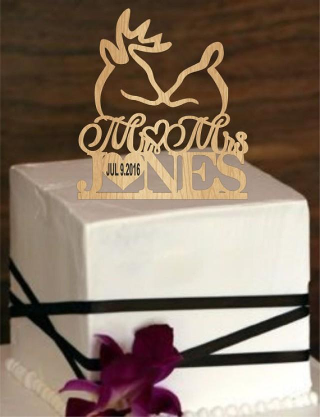 buck and doe wedding cake toppers buck and doe wedding cake topper deer wedding cake topper 12203