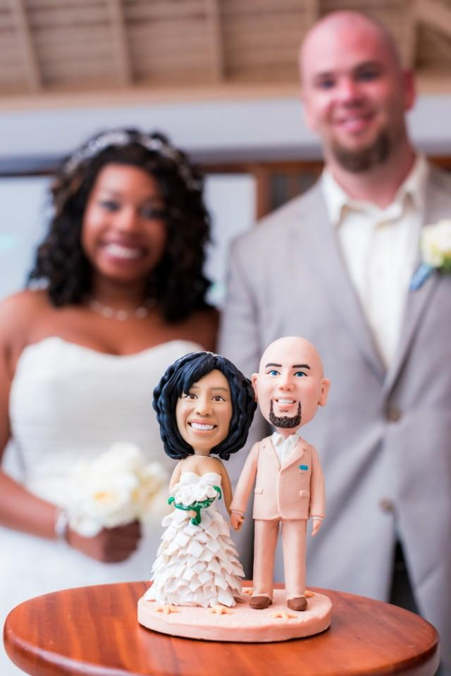 wedding cake toppers bride and groom with dog custom wedding cake topper and groom cake 26419