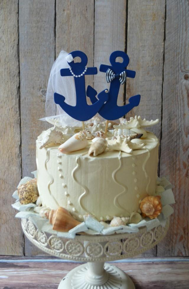 wedding cake topper beach theme anchors away wedding cake topper anchors boat wedding cake 26295