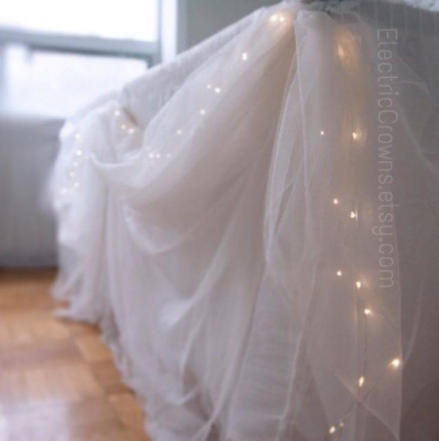Winter Decor String Lights Indoor Fairy Decorations Led Rustic Lighting Home 19ft Battery