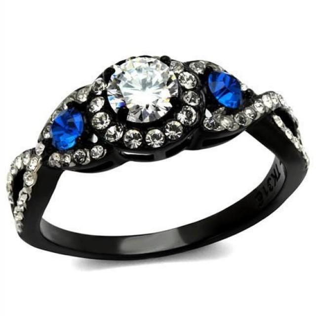 Read Shipping Info Thin Blue Line Infinity Stainless Steel Ion Plating 2438524 Weddbook