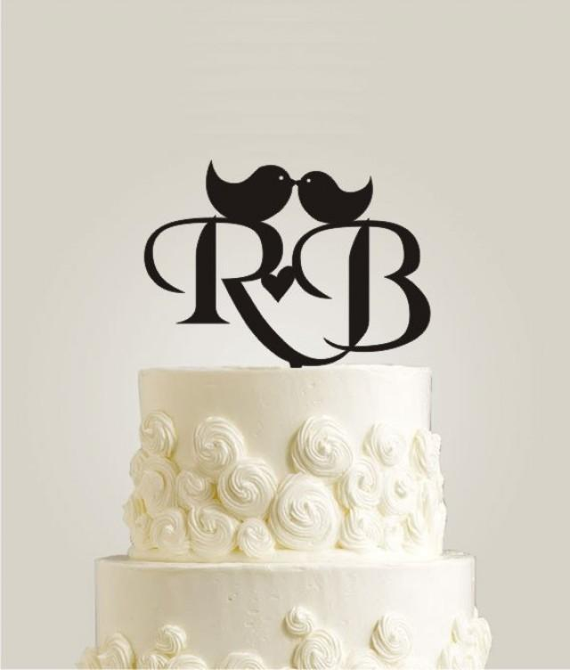 monogram wedding cake toppers initial wedding cake toppers personalized monogram cake 5998