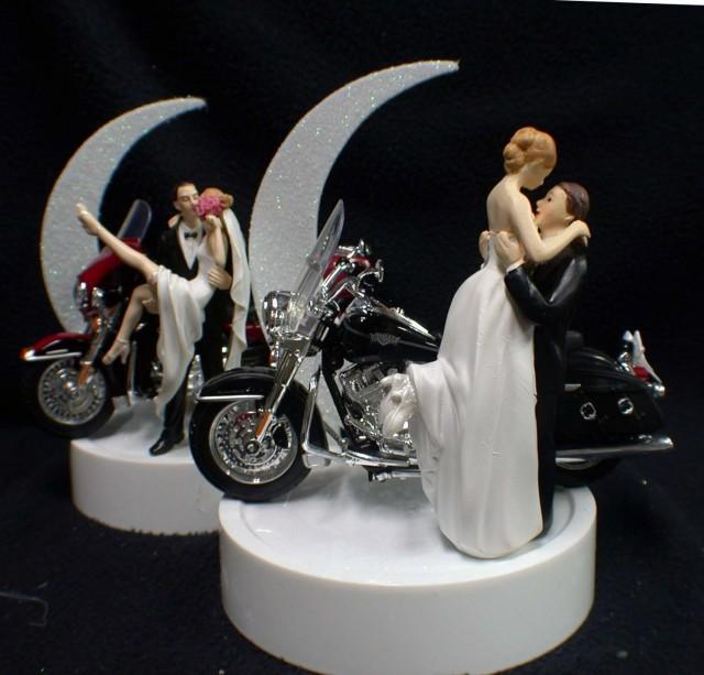 harley davidson road king wedding cake toppers or wedding cake topper w harley davidson 15070