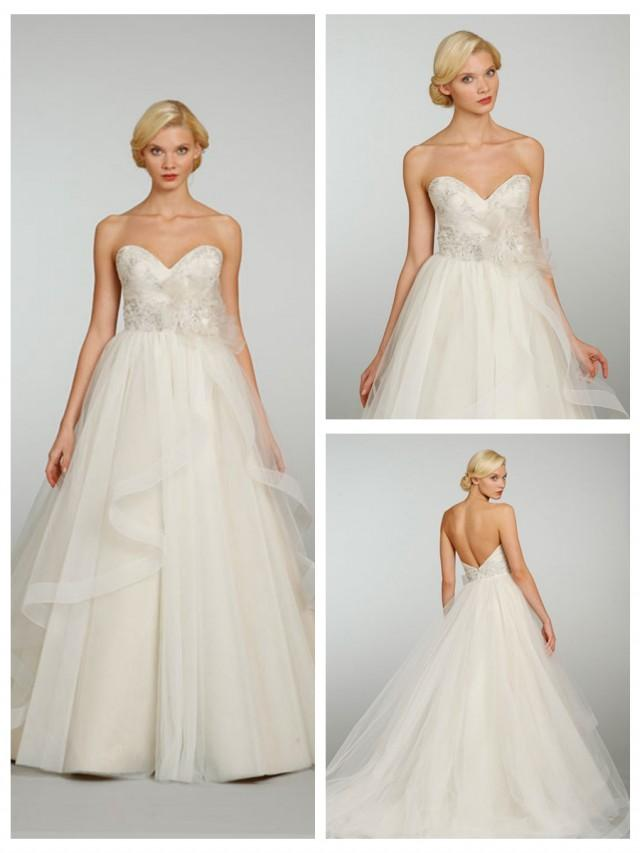 embroidered wedding dress tulle strapless sweetheart embroidered wedding 3892
