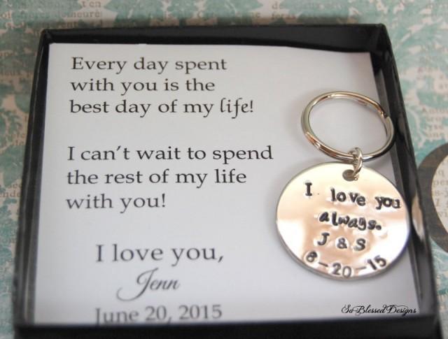 Groom Gift From Bride Wedding Day To Keepsake 2467779 Weddbook