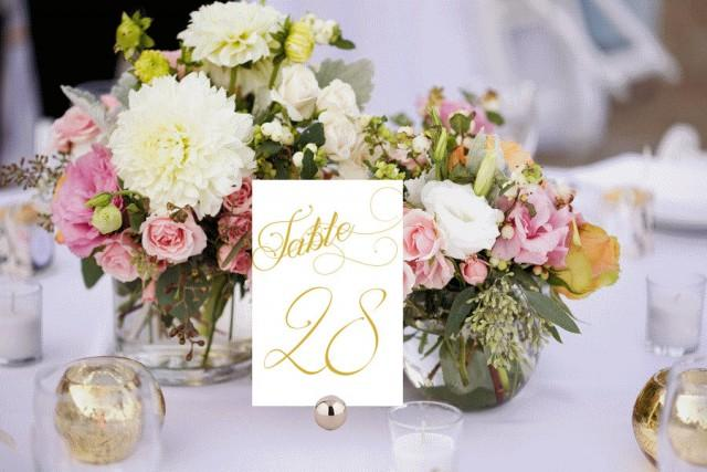 elegant table decorations for weddings table numbers printable wedding table numbers 3854