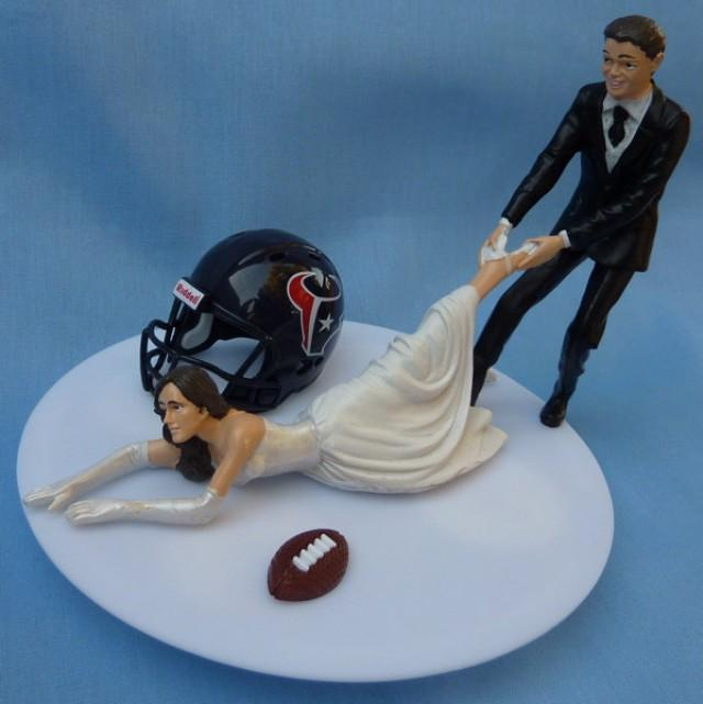 wedding cake toppers in houston tx wedding cake topper houston texans g football themed w 26508