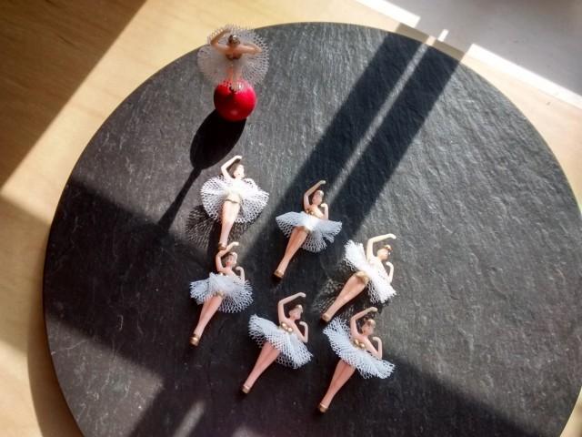 1 Diy Mini Gold Ballerina Dancer Tutu