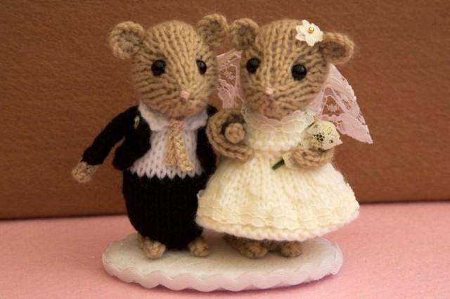 mice wedding cake toppers and groom dormouse wedding mice wedding cake 17333