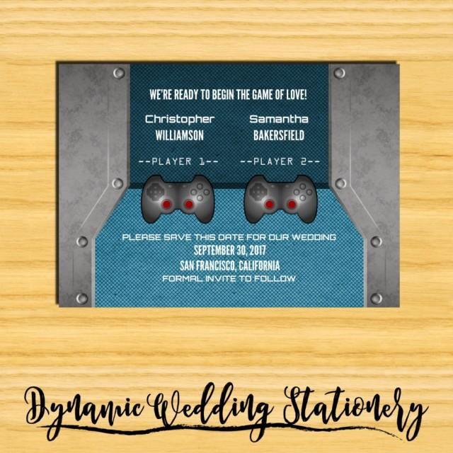 luxury video game wedding invitation or 56 video game wedding invitations