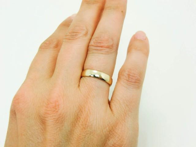 14 Karat Gold Ring Pure 14K Gold Wedding Band Real 14K Gold