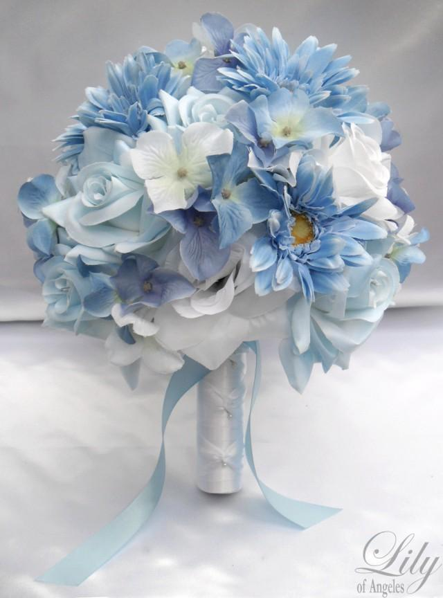 artificial wedding flower packages 17 package wedding bridal of honor 1386