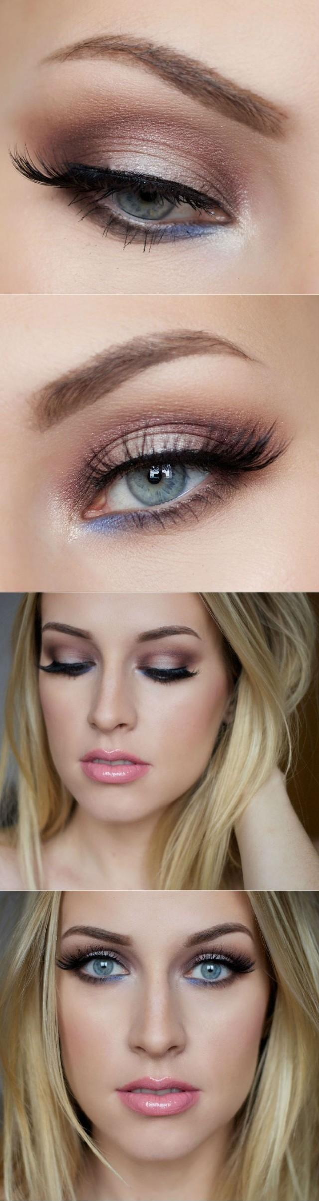 ماكياج - makeup tips for blue eyes and fair skin #2535850