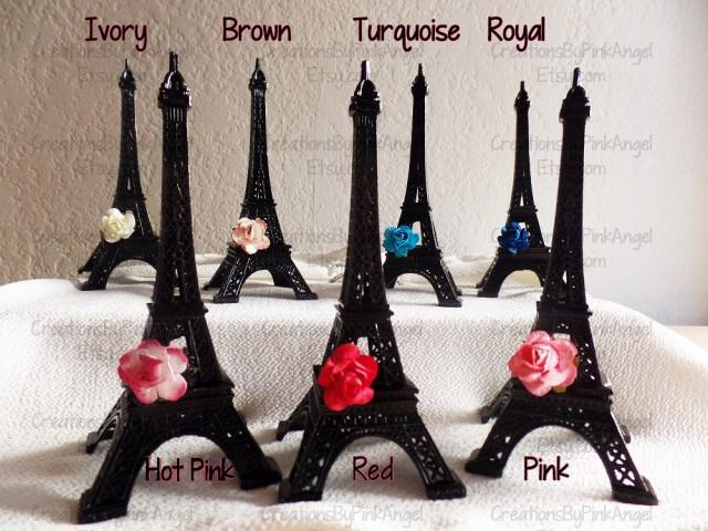 paris wedding cake topper 6 quot metal eiffel tower eiffel tower cake topper 18118
