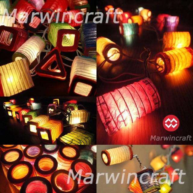 Led 20 Asian Multi Color Chinese Paper
