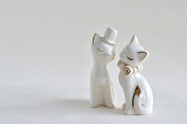 cat wedding cake toppers cat cake topper wedding cake topper gold ivory white 2519