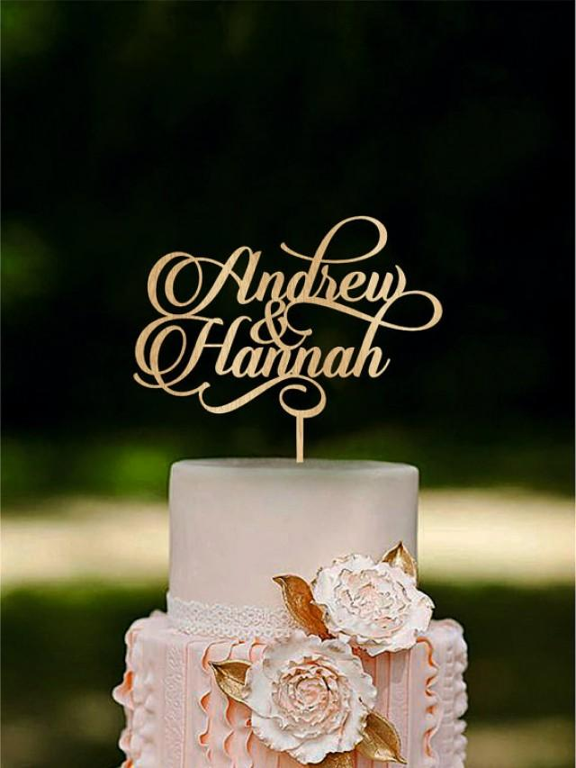 personalized last name wedding cake toppers personalized wedding cake topper custom name cake toppers 18266