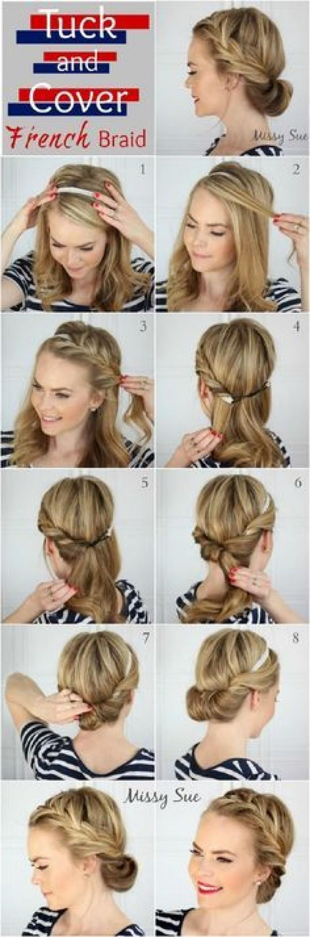 10 Easy Hairstyles For Bangs To Get Them Out Of Your Face 2637380 Weddbook