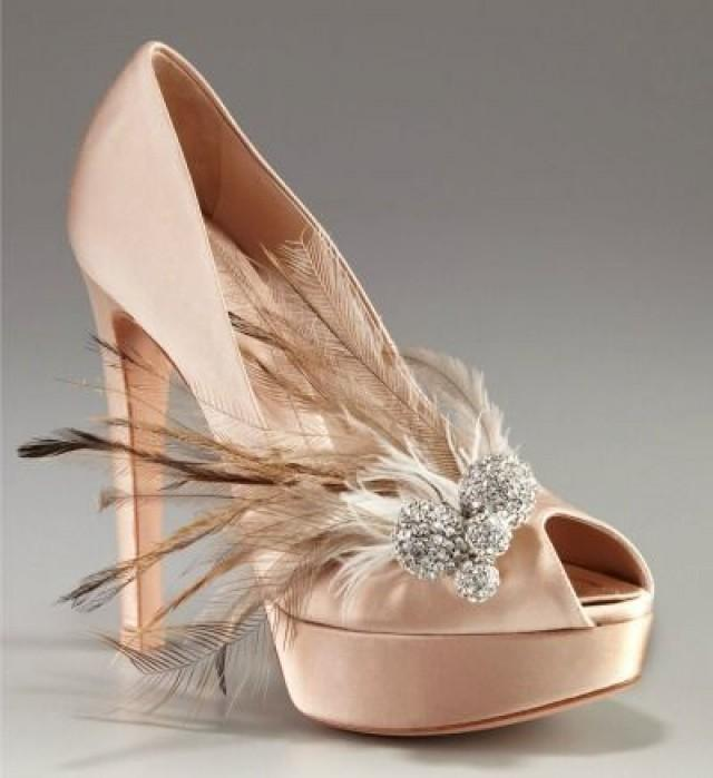 5 Pairs Of C R A Z Y Over The Top Fantasy Wedding Shoes If Money Were No Object Which Would You Wear 2653442 Weddbook