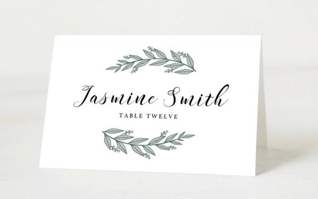 Editable Wedding Place Cards Template Printable Name Printables Seating Pdf Instant 2663737