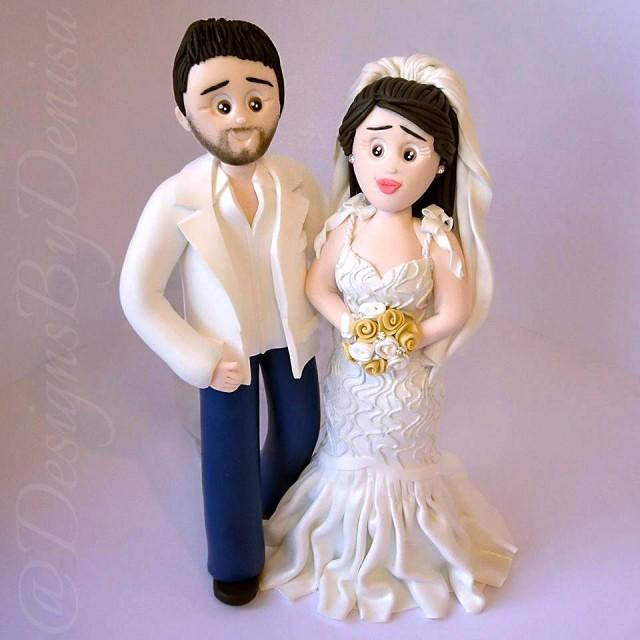 wedding cake toppers figurines personalized wedding cake topper figurines bespoke wedding 26459