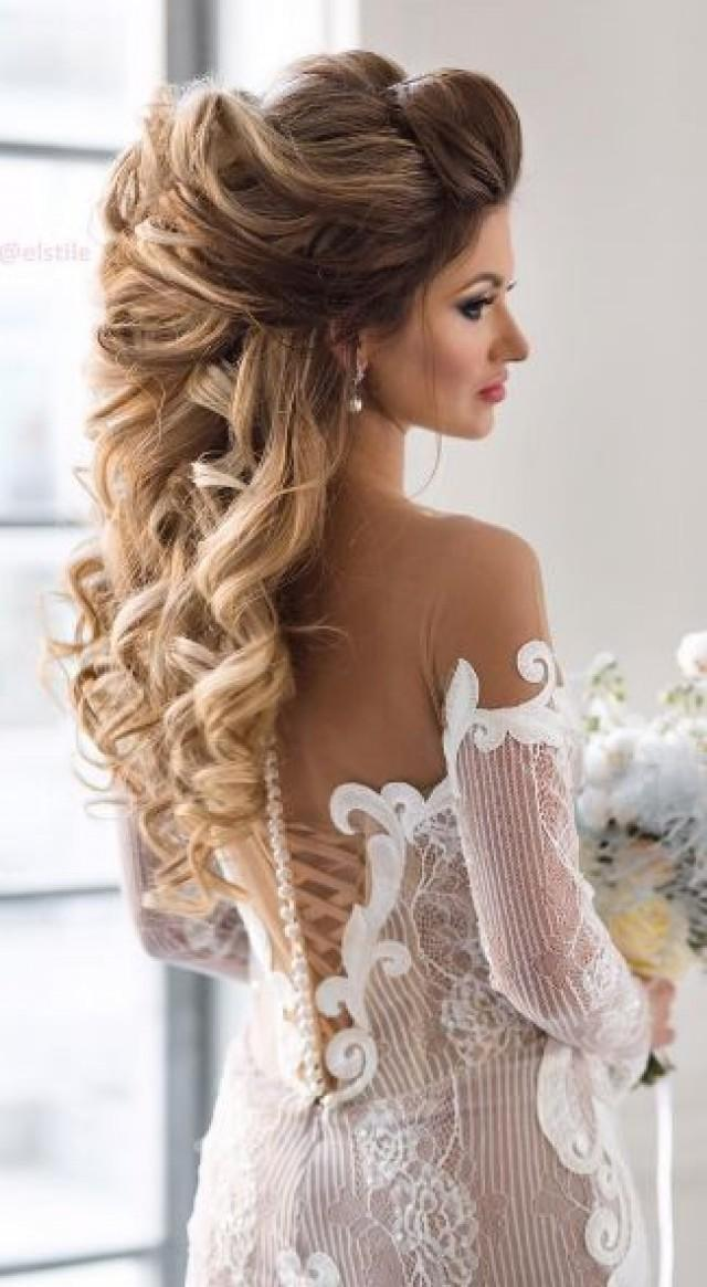 how to style long hair for wedding hair elstile wedding hairstyle inspiration 2674245 3272 | elstile wedding hairstyle inspiration