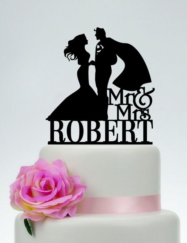 superman wedding cake toppers superman cake topper wedding cake topper mr and mrs cake 20622